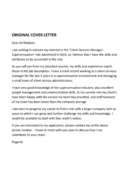 Cover letter template australia – Retail Cover Letter Template