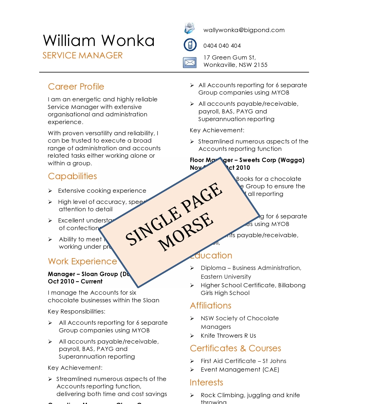 Resume Template For Pages,Diamond Image Resume Template for Pages ...